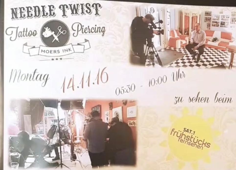 Needle Twist im Sat1 Frühstücksfernsehen